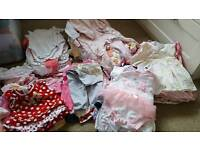 3-6month baby girl clothes bundle