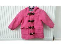 Girl's Duffle Coat Aged 3