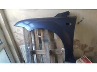 FORD FOCUS 2005-2008 BRAND NEW INSURANCE APPROVED FRONT WING in JEANS BLUE