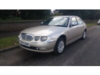 Rover 75 1.8 connoisseur champagne 85k FSH 1 owner Full Leather, Low miles