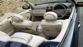 Mercedes-Benz CLK 200 convertible elegance 2004 1.8 automatic cream leather