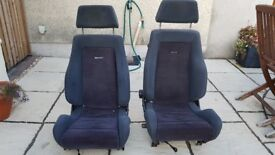 Pair of Recaro front seats will fit in VW Transporter