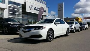 2015 Acura TLX Tech, Leather, Heated Seats, Navigation, Moon Ro