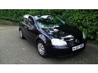 2007 VW Golf 1.6 FSI, Black in Great Condition