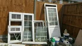 Double glaze windows and door