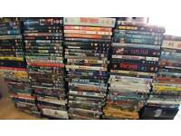 Almost 200 dvd's