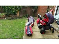 Tutis zippy 3in1 buggy mint