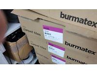 Burmatex iceni blue carpet tiles new 7 boxes