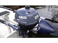 Yamaha 4stroke 2.5hp