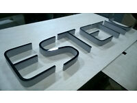 3D letters, logos, signs for sale - new. Premium quality
