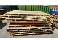 FREE Over Sized Pallets - Good For Fire Wood / Crafts / Decking / Fencing / Or Just Even A Pallet