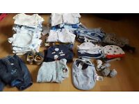 Boys baby clothes 0 to 3 months brand new never worn