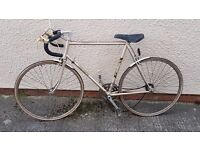 Retro Vintage Road Bike - Project Bike or Fixie/Single Speed mens bicycle £50 ONO Triumph Tempest