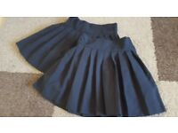 Girls School Skirts Black age 7 to 8 years