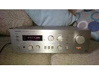 Technics SU-V4 Amp, Technics F800 Speakers, Technics M45 Tape, Pioneer PL-120 TTable, Realistic Eq.