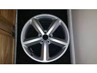 Full set Genuine Audi S Line A4 wheels