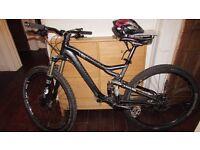 Cannondale Trigger 29er Full Suspension Mountain Bike £900 ONO great mountain bike