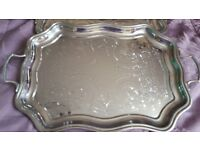 Chromium Plated Trays