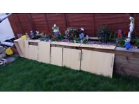 Howdens Greenwich Light Oak Slab Kitchen Cupboard doors & Drawer Fronts for sale  Goring-by-Sea, West Sussex