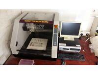 Roland, Techsoft desk top cnc milling machine TS30