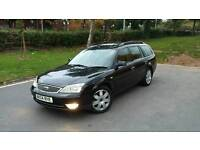 2004 FORD MONDEO 2.0 TDCI DIESEL GHIA X,LOW MILES ONLY 85K, LONG MOT, LEATHERS, TOP SPEC
