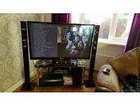 Samsung 51inch 3D Plasma TV good condition includes 1000wt Samsung Blue Ray Home Cinema System