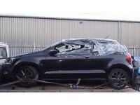VW POLO TAILGATE BLACK 2013