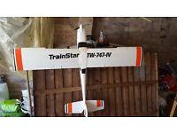 Hobby King Trainstar RC Plane