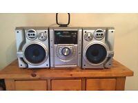 Panasonic hifi stereo system