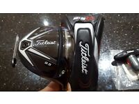 Titleist 915D3 Driver 9.5 degree, fujikura rombax upgrade shaft
