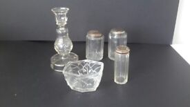 Various Glassware. Selling for Charity