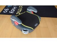 Car Booster Seat (Stage 3, Upto 36 kg) & Car seat Protector
