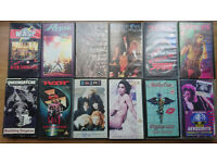 Glam Metal VHS tapes for sale