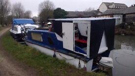Katerina - great live aboard cruiser, narrow boat, canal boat, studio