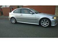 BMW Compact 1.6 E46, 12 months MOT eml on £650