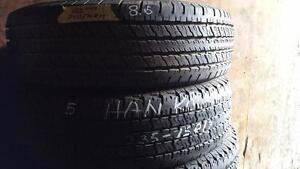 Set of four tires size 265 70 17 for sale