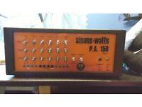Simms Watts Valve Amplifier