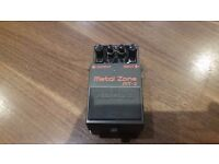 Boss MT-2 Metal Zone Effects Pedal.