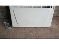 4 Electric Heaters (Delonghi and Dimplex), 2 wall radiator, 1 panel, and 1 convector.