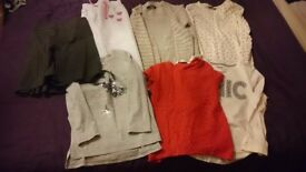 Age 6-8 girls clothes bundle. 7 items. From no smoking house.