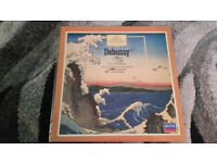 the great composers Debussy vinatge vinyl lp record