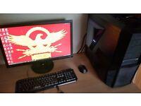 Gaming PC I7 3.60GHz/GTX 970/512GB SDD/16GB RAM/24'' Monitor Desktop Windows 10
