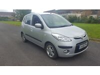 2009 hyundai i10 style . ..87k ..£30 a yr tax ..moted until december