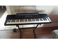 Casio CT-647 keyboard for sale. Working, good condition. Comes with stand.