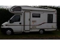 4 berth family motorhome