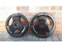 25KG OLYMPIC CAST IRON WEIGHT PLATES