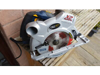 Mac Allister 1800 watt, 185mm Dual laser line, Magnesium Circular Saw. Excellent.