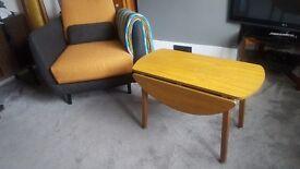 Vintage Coffee / Side Table Drop Leaf.