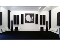 Studio & Home Theatre Acoustic Panels Starter Pack