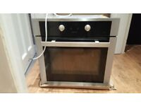 Hygena 60cm integrated fan oven/grill